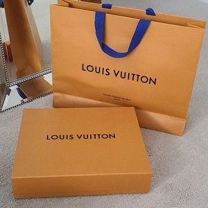 Louis Vuitton Magnetic Box & Bag